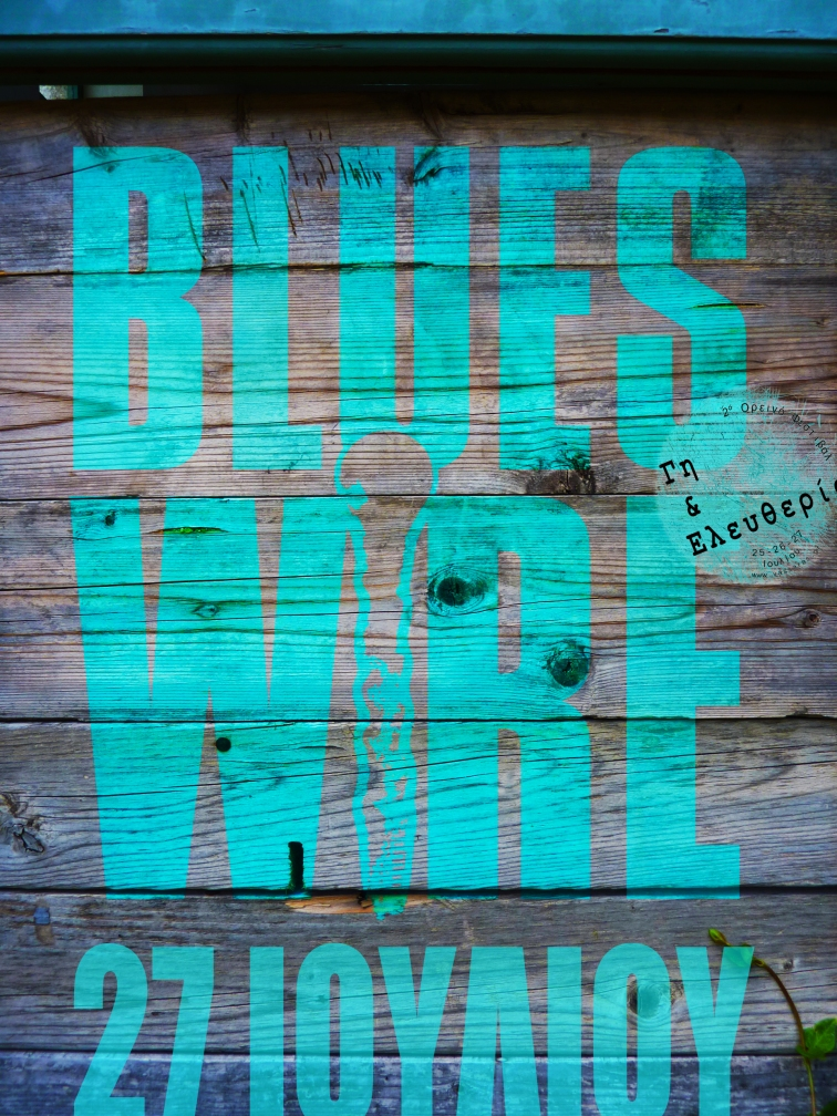 blues wire poster